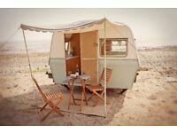 Vintage Classic Retro 1970s Caravan - Thomson Mini Glen