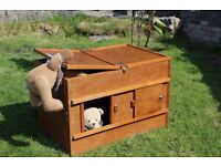 Wooden Kittening Boxes, Compartmental. Safe and Suitable for Queen to have her kittens