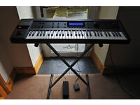 Kurzweil K2000 Synthesiser Workstation - new display, USB drive, stand, pedals and flight case