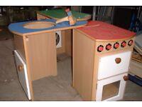 Galt Wooden Foldout Play Kitchen