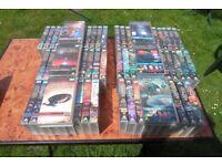 71 STAR TREK VOYAGER VHS Video Tapes s1-6