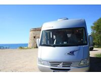 Frankia i650 A Class Motorhome Self Levelling Air Suspension Very Low Mileage in excellent condition