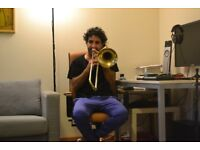 Trombone & Trumpet Lessons From Musician with Microtonal Music Formation