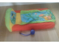 Toddler Ready Bed by Fisherprice with pump