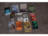 12 Stephen King Books - titles as shown