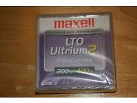 Maxell LTO Ultrium 2 Data Cartridge 200/400gb
