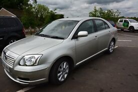 TOYOTA AVENSIS 2006 AUTO, T3-S - SILVER, 2 OWNER FROM NEW * FULLY HPI CLEAR * VERY LONG MOT