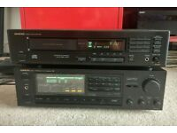 Onkyo CD PLayer & Stereo Amplifier