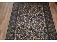 An artistic hand-made Persian Rug (Living Nature) from Iran/Persia 200cmX150cm