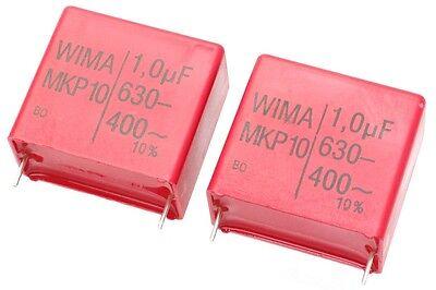 Wima Mkp1j041006g00kysd Capacitor 1uf 400vac 2pcs