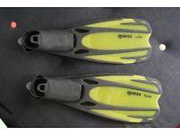 Mares fluida diving / snorkling fins - Size EU 42/43