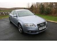 2006 AUDI A6 S LINE 2.7 TDI V6, LEATHER SEATS, LOW MILEAGE, AUDI SERVICE HISTORY, TWO OWNERS SAT NAV