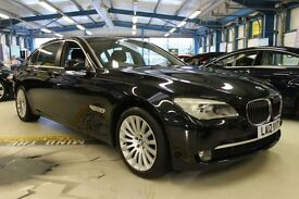BMW 740Li LWB [Former Diplomatic Use But Never Left The Country, Not Imported] 2012