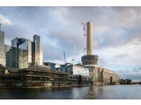 ** BRAND NEW LUXURY 1 BED APARTMENT, BALTIMORE TOWER, CANARY WHARF, E14 - AW