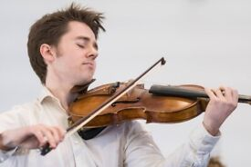 Violin/Viola Lessons - in a park or on a screen!