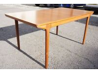 1960s / 70s Retro McIntosh T3 Teak Dining Table, Mid Century, Chairs Available. DELIVERY POSSIBLE