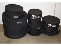 Protection Racket Drum Kit Cases 10in Tom + 12in Tom + 14in Tom + 20in Bass + 14in Snare