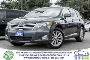 2011 Toyota Venza AWD Leather PanoRoof RearviewCam