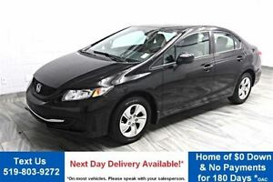 2013 Honda Civic LX BLUETOOTH! HEATED SEATS! POWER PACKAGE! CRUI