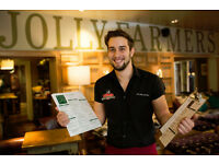 Full and Part Time Bartender/ Waiter - Up to £7.50 per hour - Jolly Farmers - Enfield - Middlesex