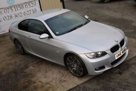 2008 BMW 3 SERIES 2.0 320D M SPORT 175 BHP COUPE (FINANCE & WARRANTY)