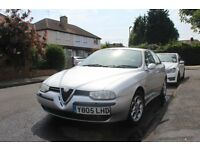 Alfa Romeo 156, 1.6 ltr lady owner, Good condition good runner spare to requirement and MOT run out