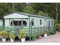 Static caravan sited at Hunters Quay Holiday Village Dunoon, Argyll