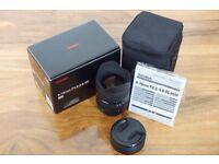 Sigma 8-16mm Zoom Lens Nikon Fit.
