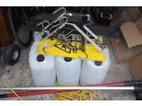 Window Cleaning Equipment + 27 Foot Gardiner Pole