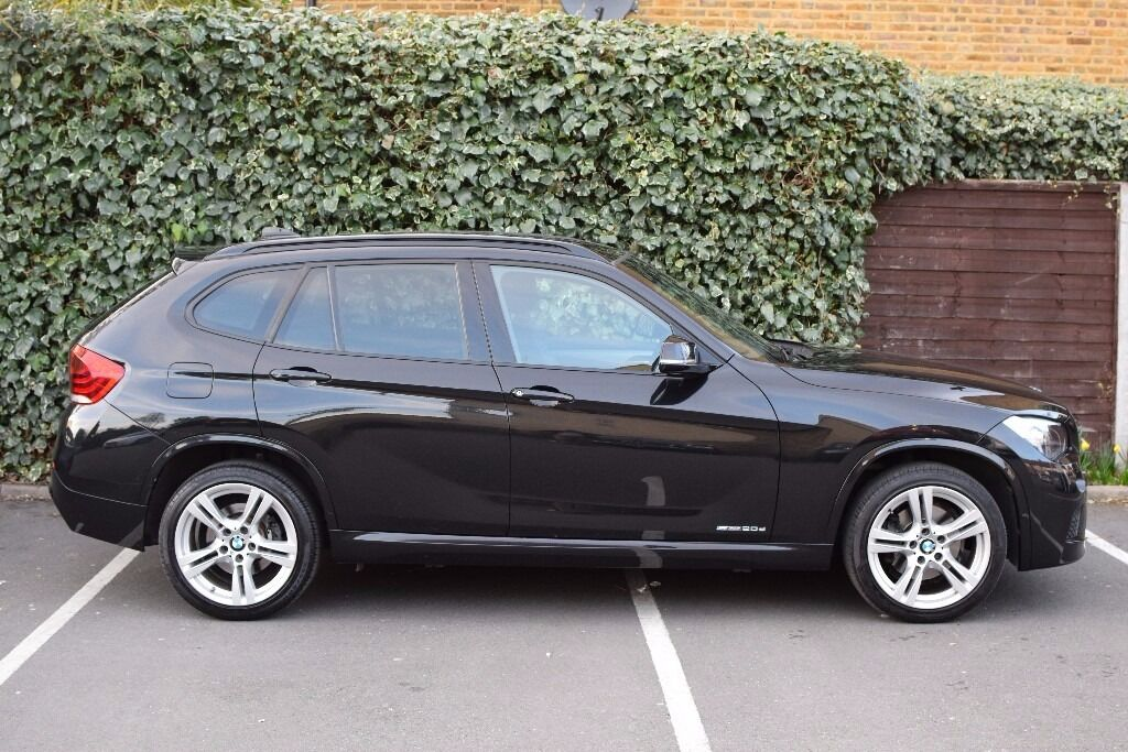 Black BMW X D M Sport SDrive Automatic Transmission Low - Black bmw x1