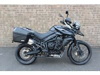 Triumph Tiger 800 XC ABS – Fully Loaded/Plenty of Extras