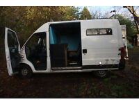 FIAT DUCATO 15 JTD converted CAMPER VAN (REGISTERED), 5 SEATS , 8 months MOT, not VW or Sprinter