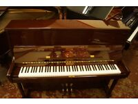Brand new BENTLEY upright piano in mahogany. UK delivery available and tuned