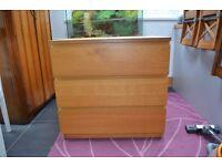 Ikea Malm 3 Drawers