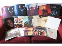 JOB LOT OF OVER 100 VINYL LPs MOSTLY ROCK ALL EX / EX+ CONDITION