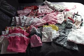 Girls baby clothes 9 - 12 months