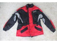 Rock motor cycle jacket