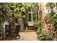 Pretty 2 bed garden flat for 1/2/3 bed in Primrose Hill/Regents Park/Baker st