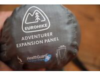Sleeping bag expansion panel - New