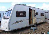 Bailey Senetor Indiana, 2006, 4 Berth, Fixed bed Caravan with Motor Mover