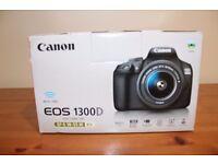 Canon EOS 1300D DSLR 18-55mm DC lens *brand new in box*