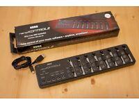 Korg NANOKONTROL2-BK 8 Channel USB Controller