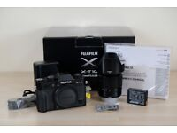 Fujifilm X-T10 camera body with XC 16-50mm II lens in superb condition