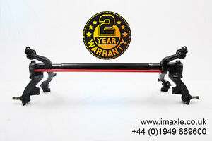 Refurbished Peugeot 206SW / Estate Rear Axle for Drum with ABS