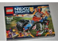LEGO NEXO KNIGHTS MACY'S THUNDER MACE set incl 3 minifigures 70319 NEW + SEALED IN BOX (NOW RETIRED)