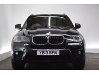 BMW X5 3.0 XDRIVE30D M SPORT [7 SEATS] 5d AUTO 241 BHP (black) 2013