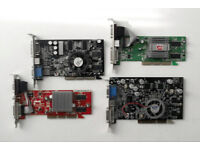 ATI Radeon & Nvidia (Various) - AGP Graphics Cards (stock to clear)