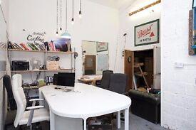 Fixed desk space in open plan, friendly office - Hackney Wick
