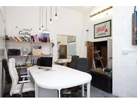 Fixed desk space in open plan, friendly office - Hackney Wick
