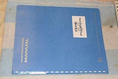 Tektronix 84 Oscilloscope Plug-in Test Unit Operation Service Manual